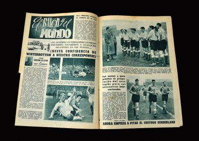 Real Madrid Magazine December 1954