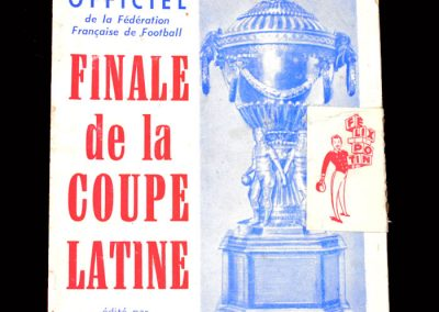 Real Madrid v Reims 26.06.1955 - Latin Cup Final