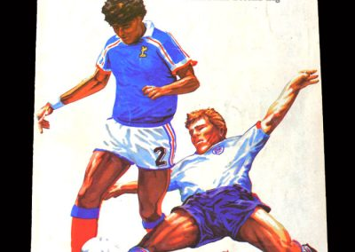 England U21 v France U21 27.04.1988