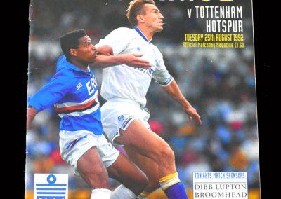 Leeds v Spurs 25.08.1992 (1st premier league hat trick)