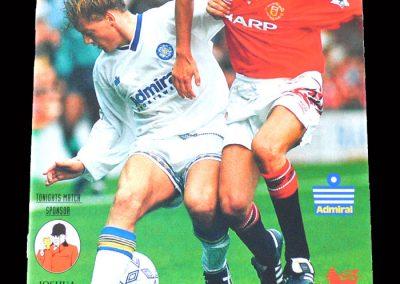 Man Utd v Leeds 08.02.1993 (Fined for spitting)