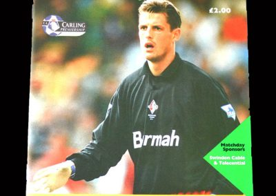 Man Utd v Swindon 19.03.1994 (Sent off)