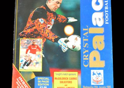 Man Utd v Crystal Palace 25.01.1995 (The Kung Fu Kick)