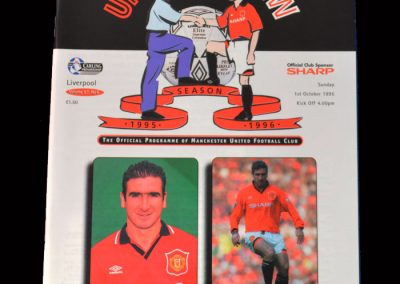 Man Utd v Liverpool 01.10.1995 (1st game back)
