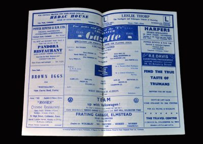 West Brom v Colchester 27.01.1968 - FA Cup 3rd Round