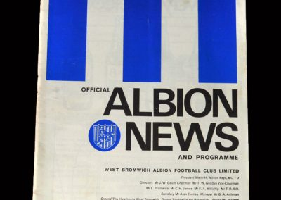 West Brom v Liverpool 30.03.1968 - FA Cup 6th Round
