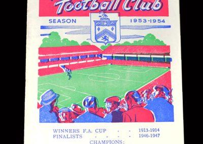 Arsenal v Burnley 06.03.1954