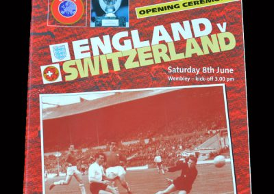England v Switzerland 08.06.1996