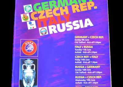 Group C Games - Germany, Czech Rep, Italy, Russia