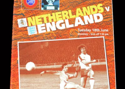 England v Netherlands 18.06.1996