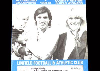 Linfield v San Jose 07.10.1981