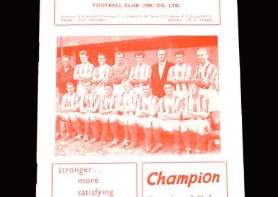 Stoke v Blackburn 27.01.1962 - FA Cup 4th Round