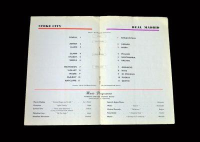 Stoke v Real Madrid 24.04.1963 - Centenary Match