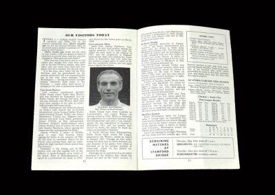 Stoke v Chelsea 11.05.1963 (Chopper Harris)