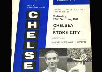 Stoke v Chelsea 17.10.1964 (Matthew's Feature)