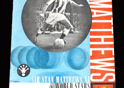 Stan Matthews 11 v World Stars 11 28.04.1965 - Testimonial match