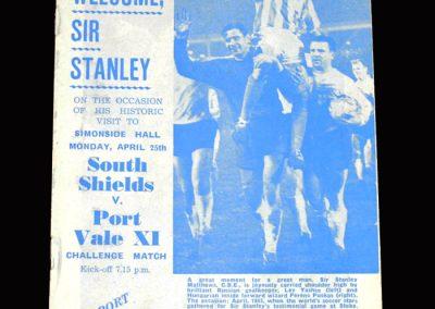 South Shields v Port Vale 25.04.1966