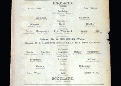 England v Scotland 04.04.1903