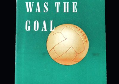 Victory was the goal - FA Pamphlet