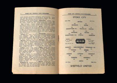 Stoke v Sheff Utd 05.10.1946