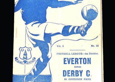 Everton v Derby 25.12.1946