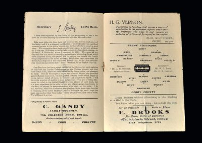 Crewe v Derby 24.01.1948 - FA Cup 4th Round