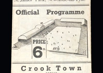 Bishop Auckland v Crook 19.04.1954 - FA Amateur Cup Final Replay
