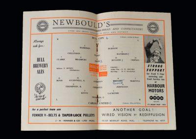 Hull v Carlisle 22.03.1958