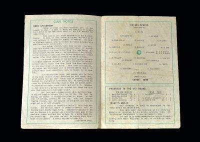 Briggs Sports v Crook 21.02.1959 - FA Amateur Cup 4th Round)