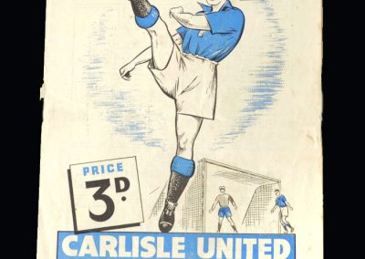 Carlisle v Accrington 20.08.1949 (Shankly as Manager)