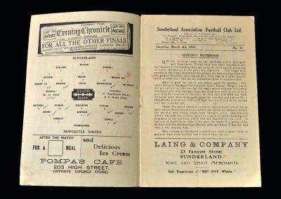 Sunderland v Newcastle 04.03.1950