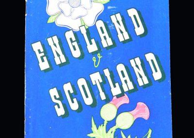 England v Scotland 04.03.1950 - Amateur International (Ronnie Simpson)