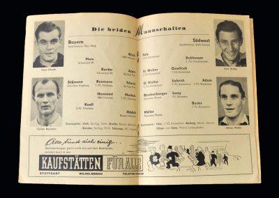 Bayern v Southwest 19.03.1950 - German Cup Final