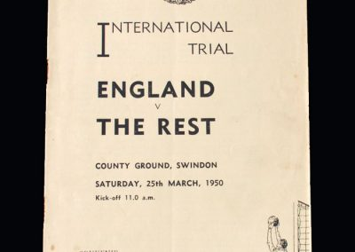 England v The Rest 25.03.1950 (Schools Match)