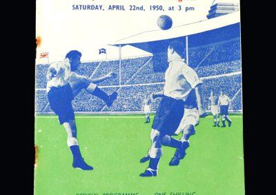 Bishop Auckland v Willington 22.04.1950 - FA Amateur Cup Final