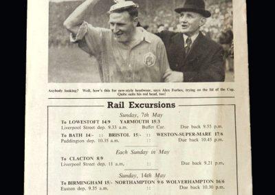 Arsenal v Portsmouth 03.05.1950