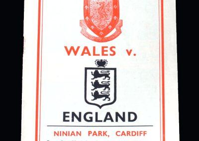 Wales v England 22.10.1955