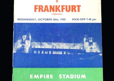 London v Frankfurt 26.10.1955