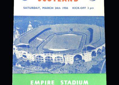 England v Scotland 24.03.1956 (Amateur)