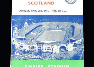 England Schools v Scotland Schools 21.04.1956