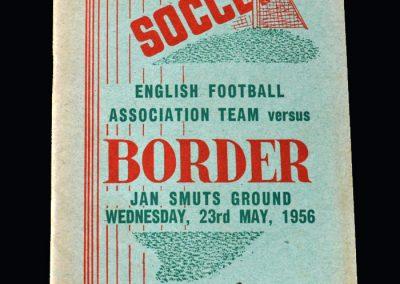 England v Border 23.05.1956