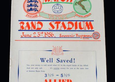 England v South Africa 23.06.1956