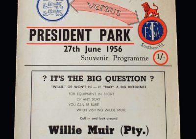 England v S Transvaal 27.06.1956