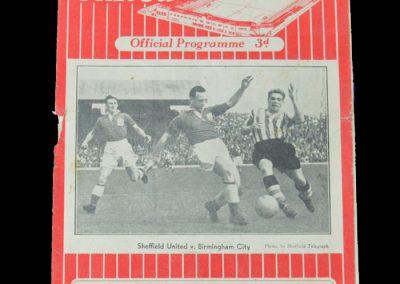 Man Utd v Sheff Utd 10.09.1955