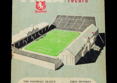 Man Utd v Aston Villa 15.10.1955