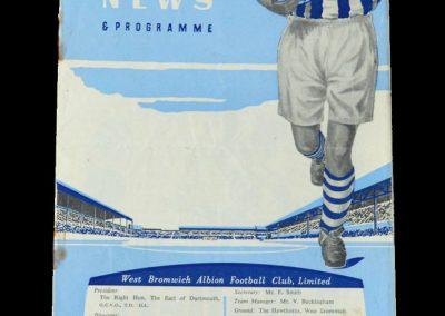Man Utd v West Brom 24.12.1955