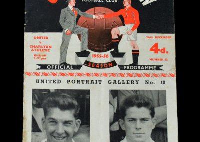 Man Utd v Charlton 26.12.955