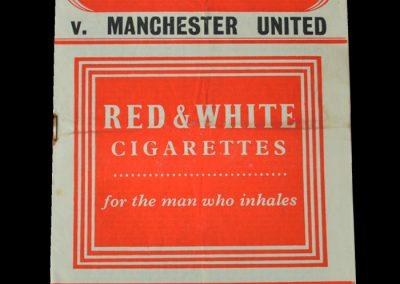 Man Utd v Charlton 27.12.1955