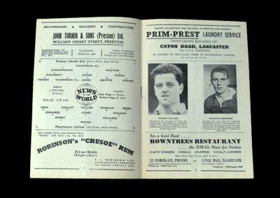 Man Utd v Preston 21.01.1956