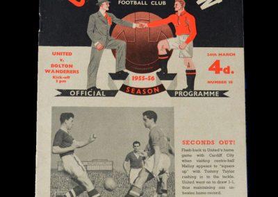 Man Utd v Bolton 24.03.1956
